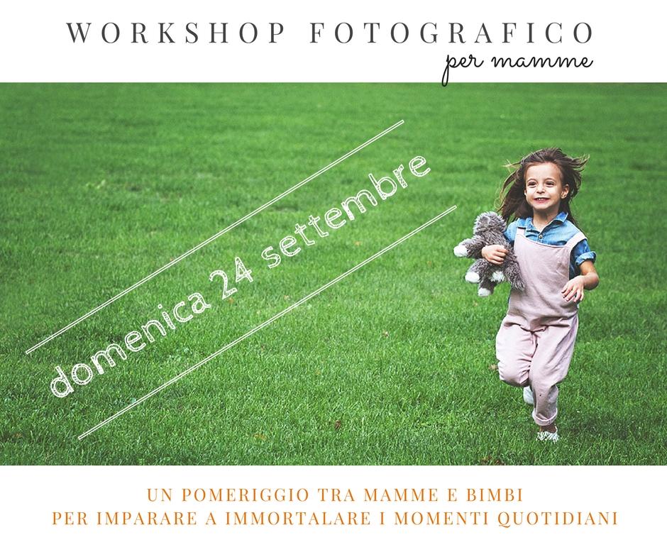workshop fotografico per mamme