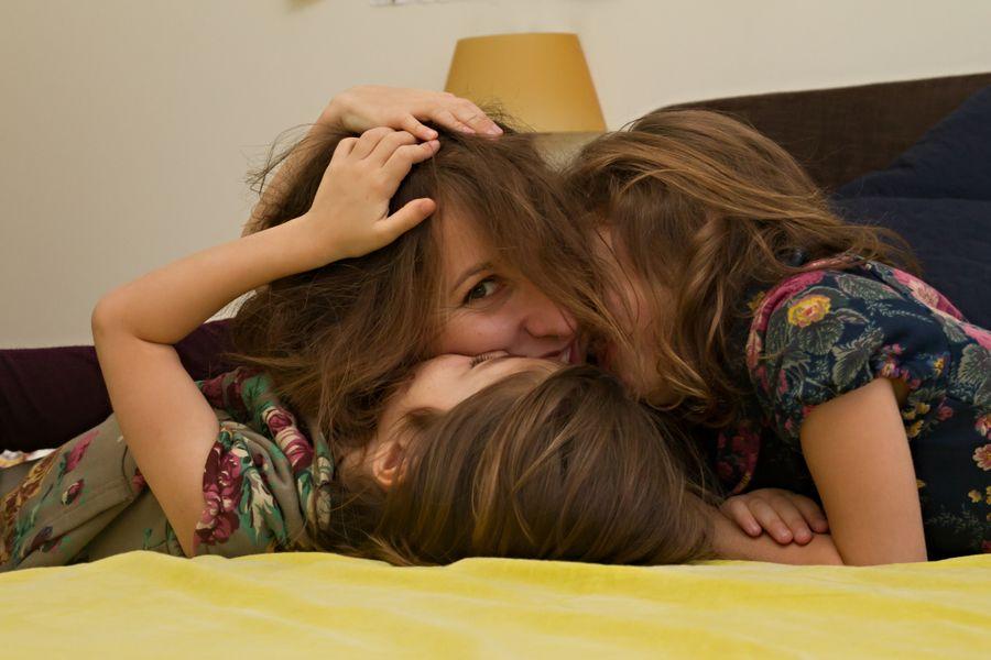 foto mamma e figlie