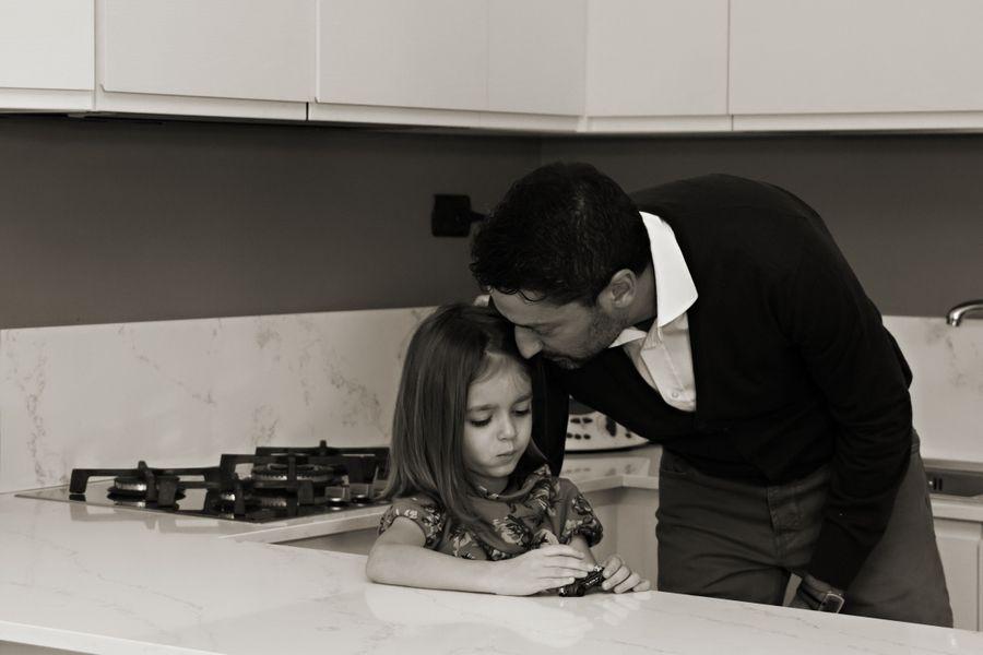 foto papà e figlia lifestyle