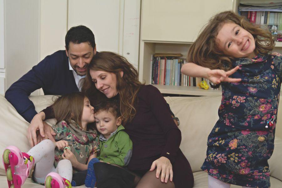 foto lifestyle di famiglia