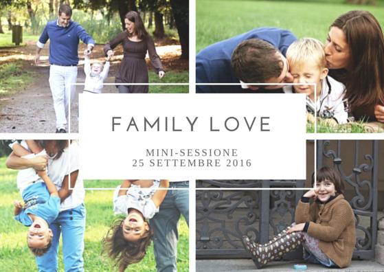 FAMILY love_booking_fotografico