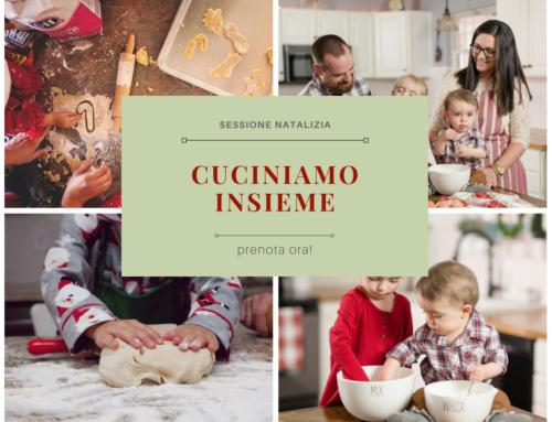 Cuciniamo insieme | Servizio fotografico famiglia Natale