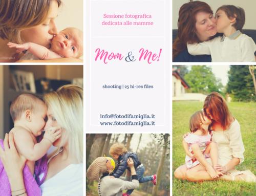 Mini servizio fotografico Festa della Mamma