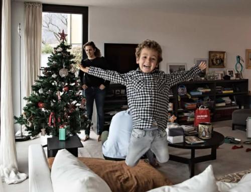 Shooting di Natale per ricordare il tuo vero Natale