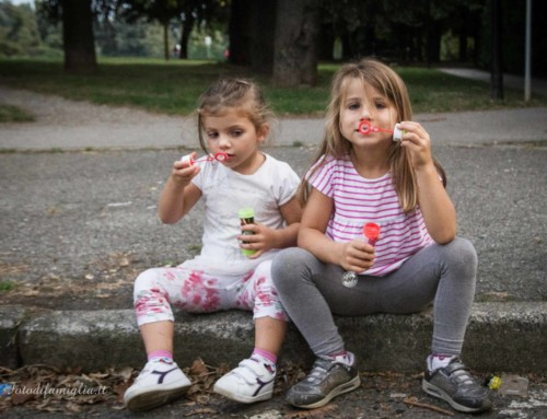 Piccole donne crescono :: Book fotografico di famiglia Milano