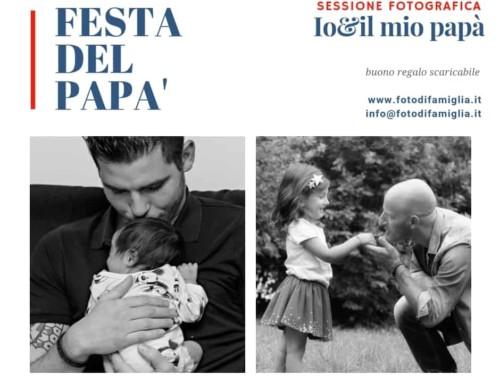 Festa del papà – regala servizio fotografico