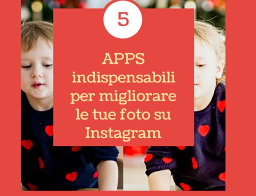 5 apps per le tue foto