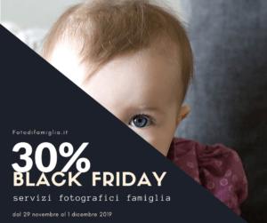 black friday servizio fotografico