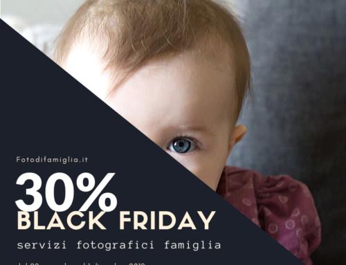 BLACK FRIDAY BOOK FOTOGRAFICO E BUONO REGALO